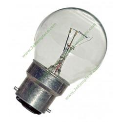 Ampoule de four 300 degrés B22 40 Watts toutes marques