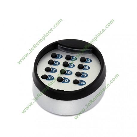 Clavier sans fil wireless 433.92 mhz lumière de nuit et bruiteur de touche
