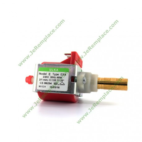 Pompe à vibration Ulka EX4 220/230 Volts 48 Watts, 50Hz pour machine à café expresso