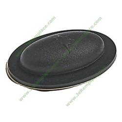 91600693 Cache poussoir noir pour table de cuisson