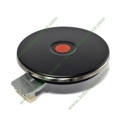 Plaque chauffante 1500 Watts diamètre encastrement 145 mm bord 4mm