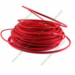Fil 1.5 mm en fibre de verre haute température - fil ignifugé - résistant au feu