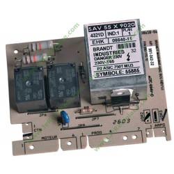 55x9020 Carte électronique de puissance 6147D pour lave linge