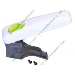 Poignée de panier blanche et bouton vert SS-992252 pour Actifry SEB