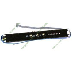 Boitier clavier de commande 71X5172 pour hotte