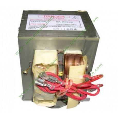 72X7676 Transformateur H.T DCE-900NTC pour micro ondes