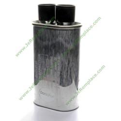 Condensateur haute tension 1uF - 2100V pour micro ondes