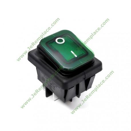Interrupteurs Rectangulaire à soufflet 22x30 mm pour machine à café ou autre