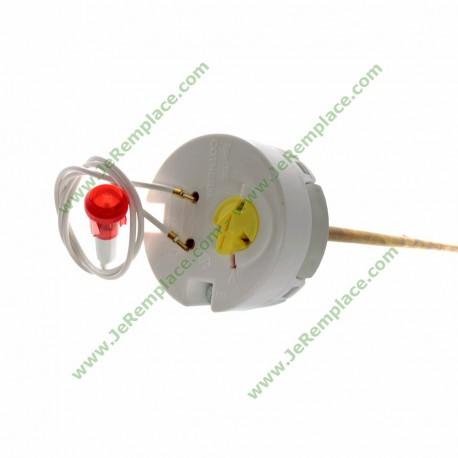 Voyant lumineux rouge pour chauffe eau avec fils diamètre 10mm 220 Volts