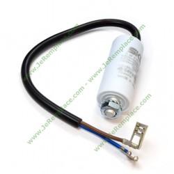 Condensateur 3 micro farads avec câble pour moteur