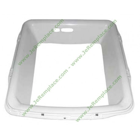 55x9629 Cache joint de hublot rectangle pour lave linge