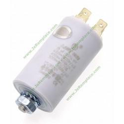 Condensateur permanent 8 Micro-Farads pour moteur