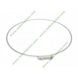 Collier de serrage de joint de hublot 55x2961 pour lave linge