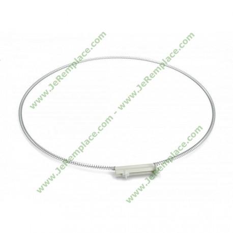 WTG737900 Collier de serrage de joint de hublot pour lave linge