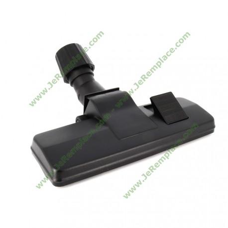 Brosse rectangle universelle à roulette aspirateur diamètre 30 à 36mm