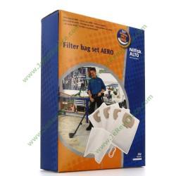 302002404 Boite origine de 4 sacs à poussières pour aspirateur Nilfisk