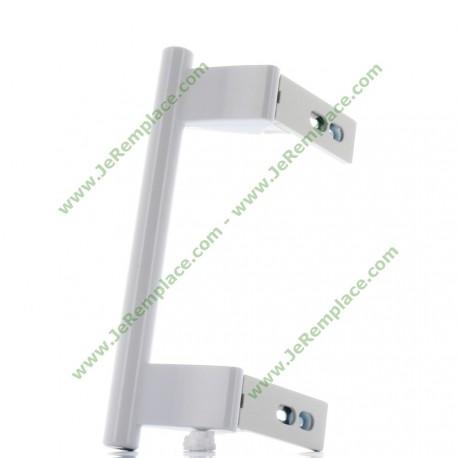 9096036 Poignée de porte blanche pour réfrigérateur liebherr