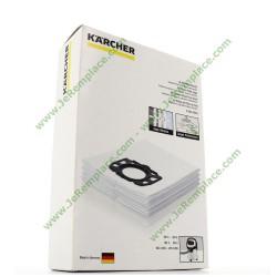 Sacs aspirateur (x4) en feutre 28630060 pour aspirateur KARCHER