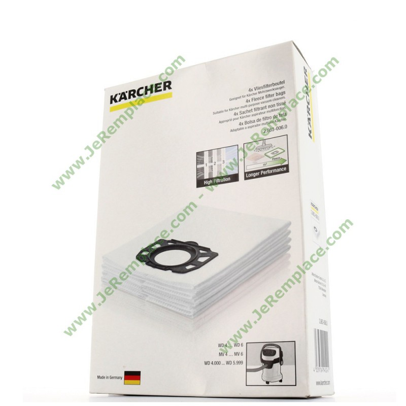 KARCHER SACHET DE SACS X4-28630060 by Karcher