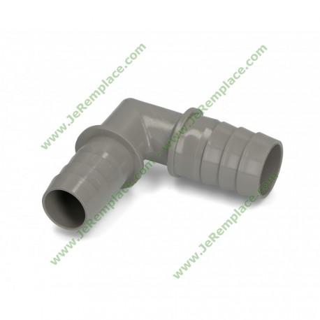 diamètre 20 mm Coude équerre raccord pour tuyau de vidange