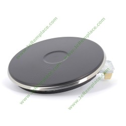 Plaque chauffante 75X1077 1500W diamètre 180 bordure 4mm