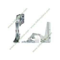 2 Charnières de porte 481231018626 pour congélateur réfrigérateur