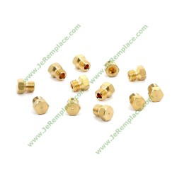 c00111156 Sachet d'Injecteurs gaz butane pour cuisinière et plaque de cuisson