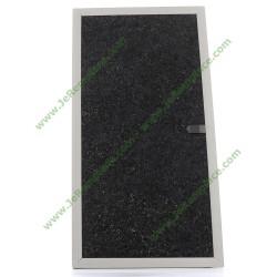 Filtre charbon rectangle 49002536 pour hotte