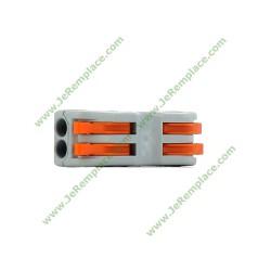 Bornes de Connexion automatique double de type wago 32 ampère