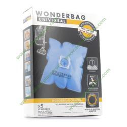 5 Sac aspirateur WONDERBAG WB406120 ORIGINAL aspirateur