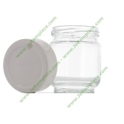 A14A03 Pot yaourtière en verre avec dateur Pour yaourtière moulinex