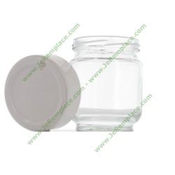 Pot yaourtière en verre avec dateur A14A03 pour yaourtière Moulinex