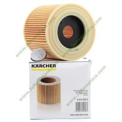 64145520 Filtre cartouche avec bouchon pour aspirateur Karcher