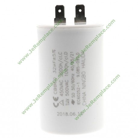 90850950 32 micro farads Condensateur permanent KARCHER