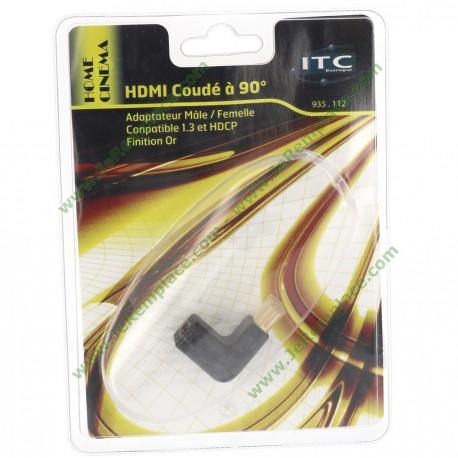 CORDON HDMI COUDE A 90°