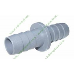 Raccord 17/17mm pour tuyau de vidange