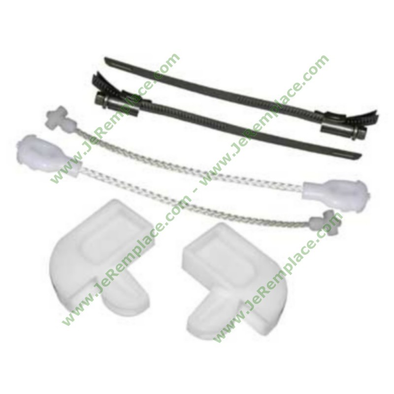 Kit fixation de charni re lave vaisselle brandt 32x1855 for Fixation porte lave vaisselle encastrable