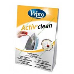 wpro Kit nettoyant et antitartre pour semelle de fer à repasser