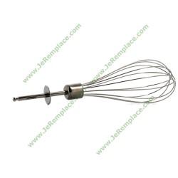Fouet en métal WH5 64189652 pour mixer Braun