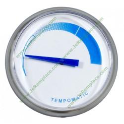 thermomètre courbé pour chaudière