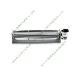 ventilateur tangentiel droit 270/16mm pour tous appareils Multi-marques