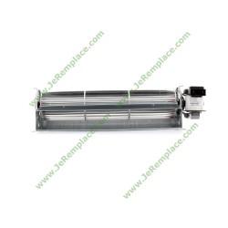 ventilateur tangentiel droit 270/16mm pour tous appareils, toutes marques.