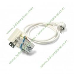 Antiparasite et câble d'alimentation C00091633 pour lave linge