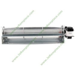ventilateur tangentiel L-300 mm28 Watts diamètre 60 mm droit chaud et froid