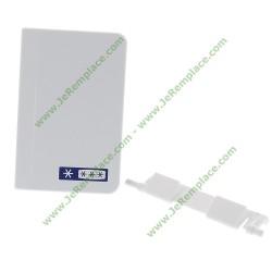 9590222 poignée de portillon freezer pour réfrigérateur