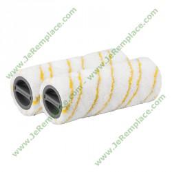 kit 2 Rouleaux microfibre 20550060 pour nettoyeur de sol Karcher