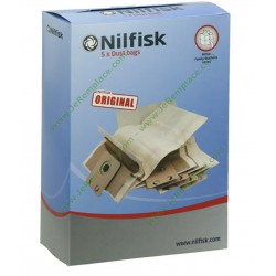 Sac en papier pour aspirateur 82222900 Nilfsik
