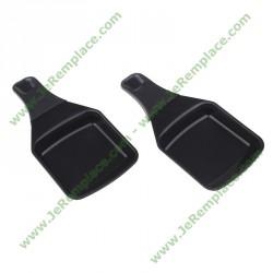 XA400202 coupelles anti-adhésives carrées pour appareil à raclette