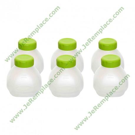 6 bouteilles pour yaourt à boire XF102000 pour Yaourtière