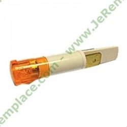 Voyant orange 9 mm à cosse 93594513 pour table de cuisson